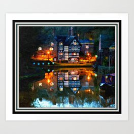 The Package House Art Print