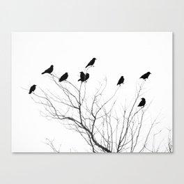 Crow Tree Canvas Print