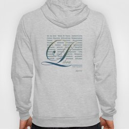 Sign Language for Libra Hoody