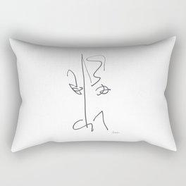 Demeter Moji d21 7-4 w Rectangular Pillow