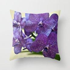 Wanda orchid 8353 Throw Pillow