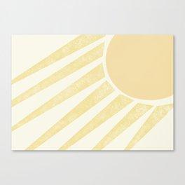 Vitamin D Canvas Print