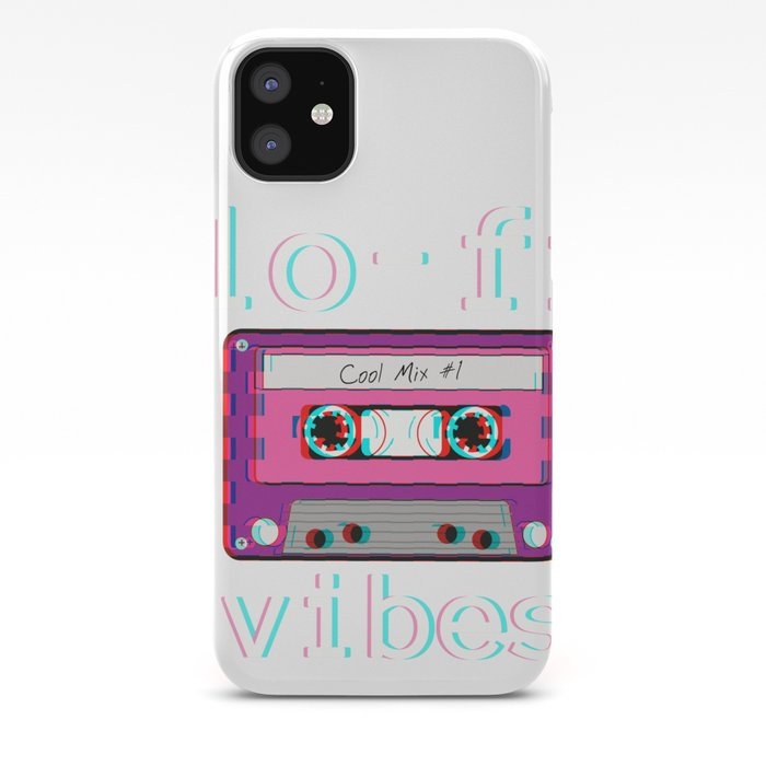 Low Fidelity Music Product Aesthetic Tape Lo Fi Vibes Design Iphone Case By Dc Designstudio