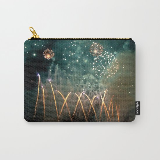 Fireworks Face Carry-All Pouch