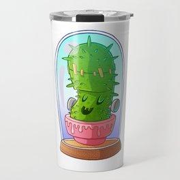 Frankenstein's cactus Travel Mug
