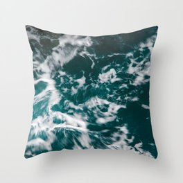 Freedom Waves Throw Pillow