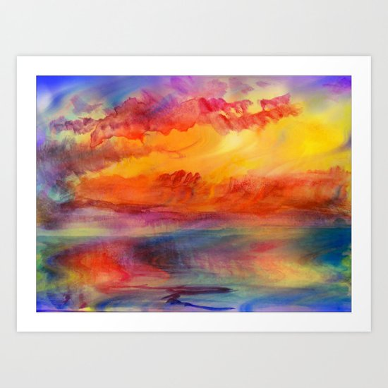 Dreaming of Summer Art Print