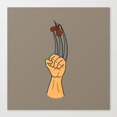 x-men finger puppet Canvas Print