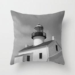 Point Loma Lighthouse Throw Pillow