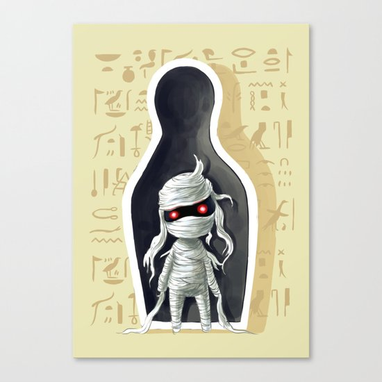 Mummy 2 Canvas Print