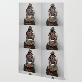 Historical Samurai Armor Photograph (18th Century) Wallpaper