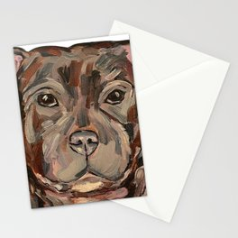 Sallie the dog Stationery Cards