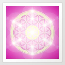 Flower of Life No. 01 Art Print