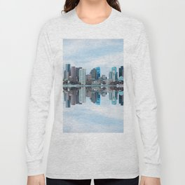 Boston reflection Long Sleeve T-shirt
