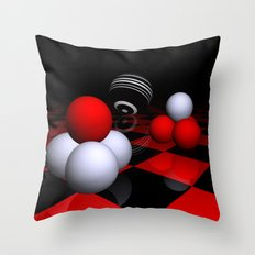 ball pyramids -2- Throw Pillow