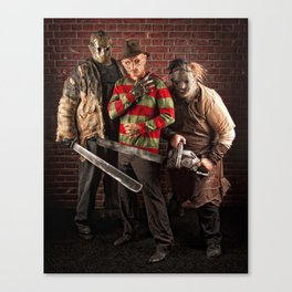 lady killers Canvas Print