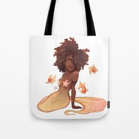 leo Tote Bags featuring Leo by Laia™