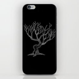 Tree 03 Inverse, One Liner iPhone Skin