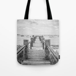 Old Dock Hyannis Port Cape Cod Ma Tote Bag
