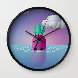 a l b e r i i n t e s t a Wall Clock