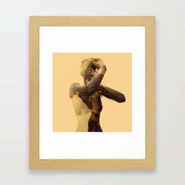 Goldie Framed Art Print