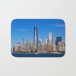 One World Trade Center Bath Mat