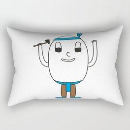 Egg Indian Rectangular Pillow