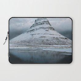 Kirkjufell Mountain in Iceland - Landscape Photography Laptop Sleeve