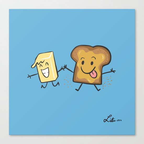 Kaya Toast Canvas Print