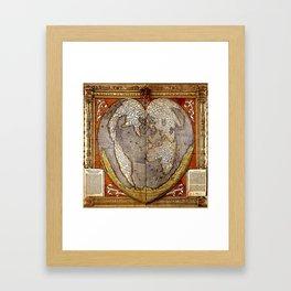 Heart of the World Framed Art Print