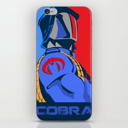 Yes Cobra Can iPhone Skin