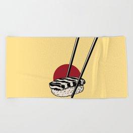 Sushi-San Beach Towel