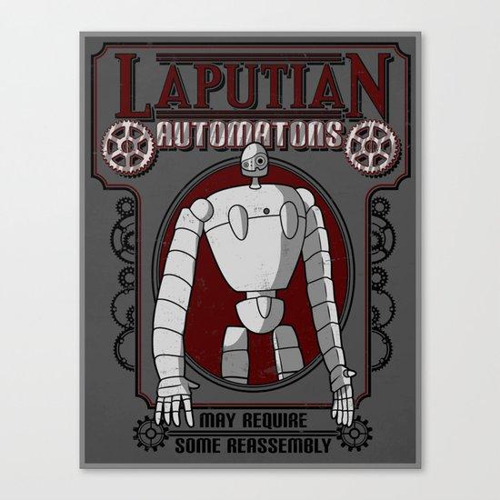 Laputian Automatons Canvas Print