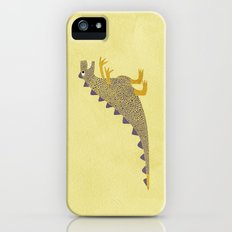 Not a very scary dinosaur iPhone (5, 5s) Slim Case