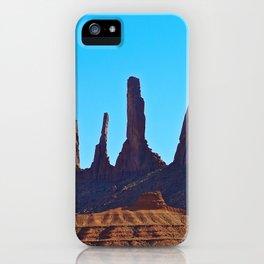 Blue Sky & Rock iPhone Case