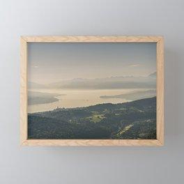 Zuerichsee Framed Mini Art Print