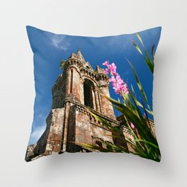 Gothic chapel Throw Pillow