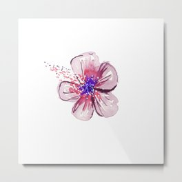 Little Lilac Flower Metal Print
