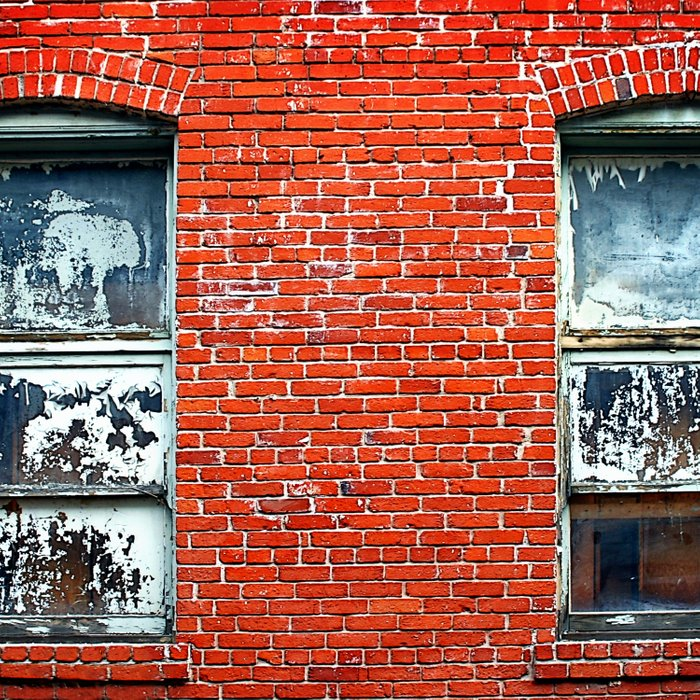 Old Windows Bricks Comforters