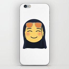 Nico Robin Emoji Design iPhone Skin