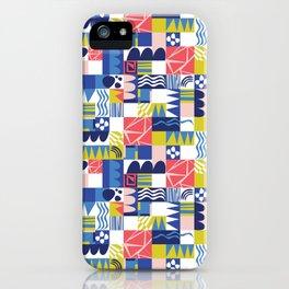 Geometric Playground iPhone Case