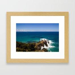 Easterly Coast Framed Art Print