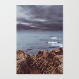 Sunset Cliffs Storm Canvas Print