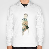 grimes Hoodies featuring Rick Grimes by Cassius