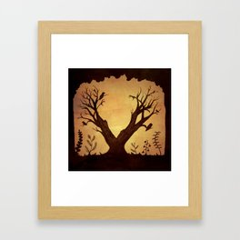 V for Vasilisa Framed Art Print