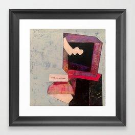 entropy and disorder Framed Art Print