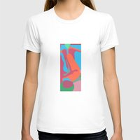 nudes T-shirts featuring three nudes by design lunatic