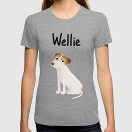 "Custom Artwork, ""Wellie"" T-shirt"