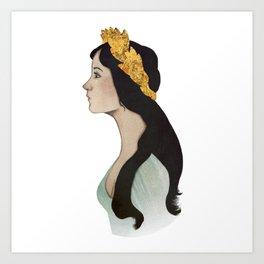 Laurel Girl Art Print
