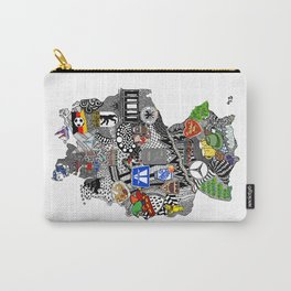 Germany Doodle Carry-All Pouch